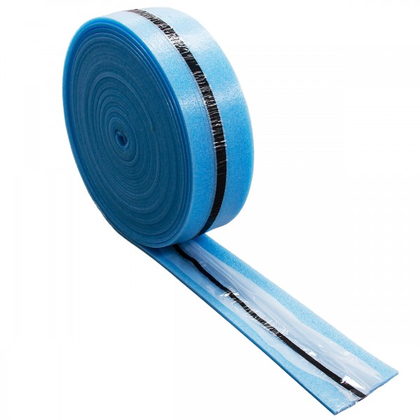 Randdämmstreifen 150mm mit Folie und selbstklebend 25m