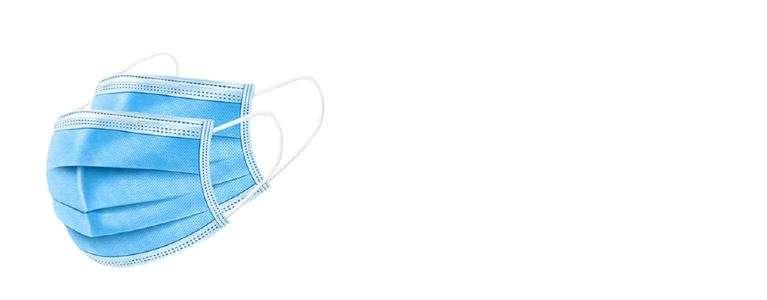 Die 3-lagigen Mund-Nasen-Schutzmasken sind atmungsaktiv und flexibel in der Anwendung. Sie schützen zwar das Umfeld vor ausgeatmeten Tröpfchen, bieten für den Maskenträger aber keinen vollständigen Schutz gegen Aerosole.