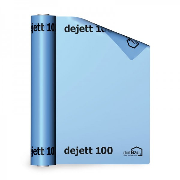 doitBau dejett 100 Dampfsperrfolie 4m x 25m blau