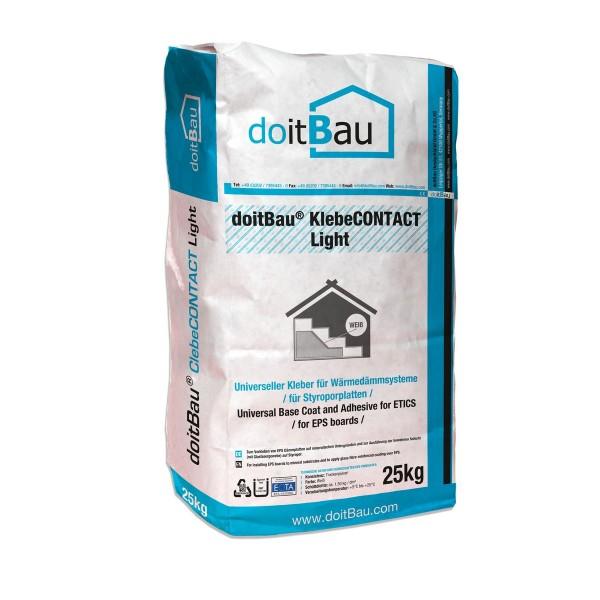 doitBau KlebeCONTACT light 25kg Armierungsmörtel weiß