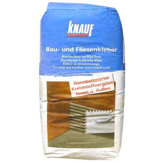Knauf K1 Bau- und Fliesenkleber / Dünnbettmörtel