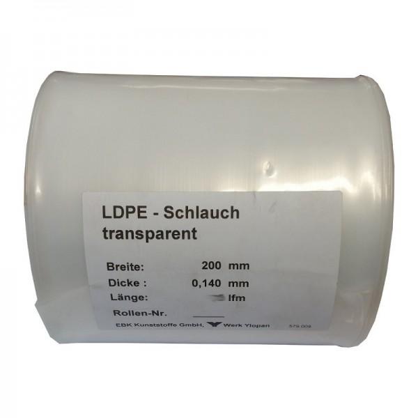 LDPE Schlauch 20cm x 50m Dachrinnen Ablaufschlauch